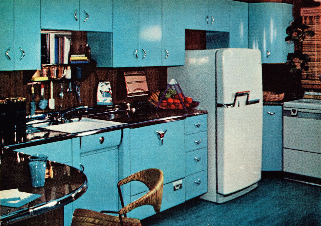 Kitchen designed by the editors of Good Housekeeping magazine, as ...