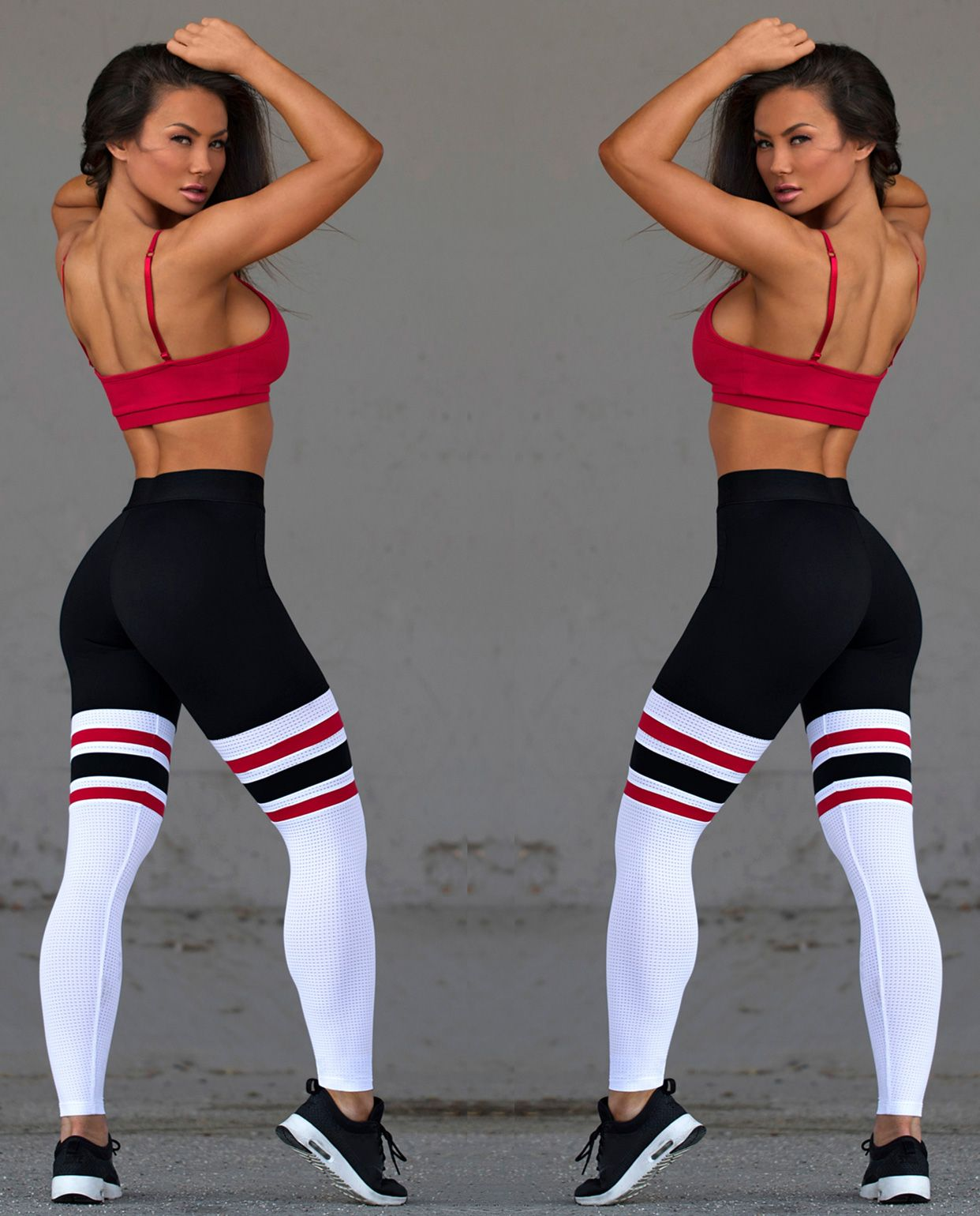 1f1b927d6865b9 Women's sports wear Cute Leggings, Yoga Leggings, Gym Gear, Workout Attire,  Workout