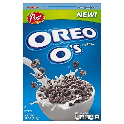 Post Oreo O's Breakfast Cereal