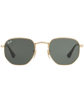 ee7a260600c Ray-Ban Hexagonal Flat Lens Sunglasses