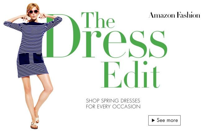 amazon uk launches the dress edit shopper discounts and rewards