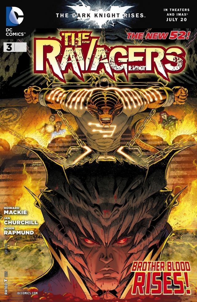 The Ravagers Brother Blood Is Here To Destroy Your Heroes As Beast Boy And Terra Continue Feel Ramifications Of Culling Crossover