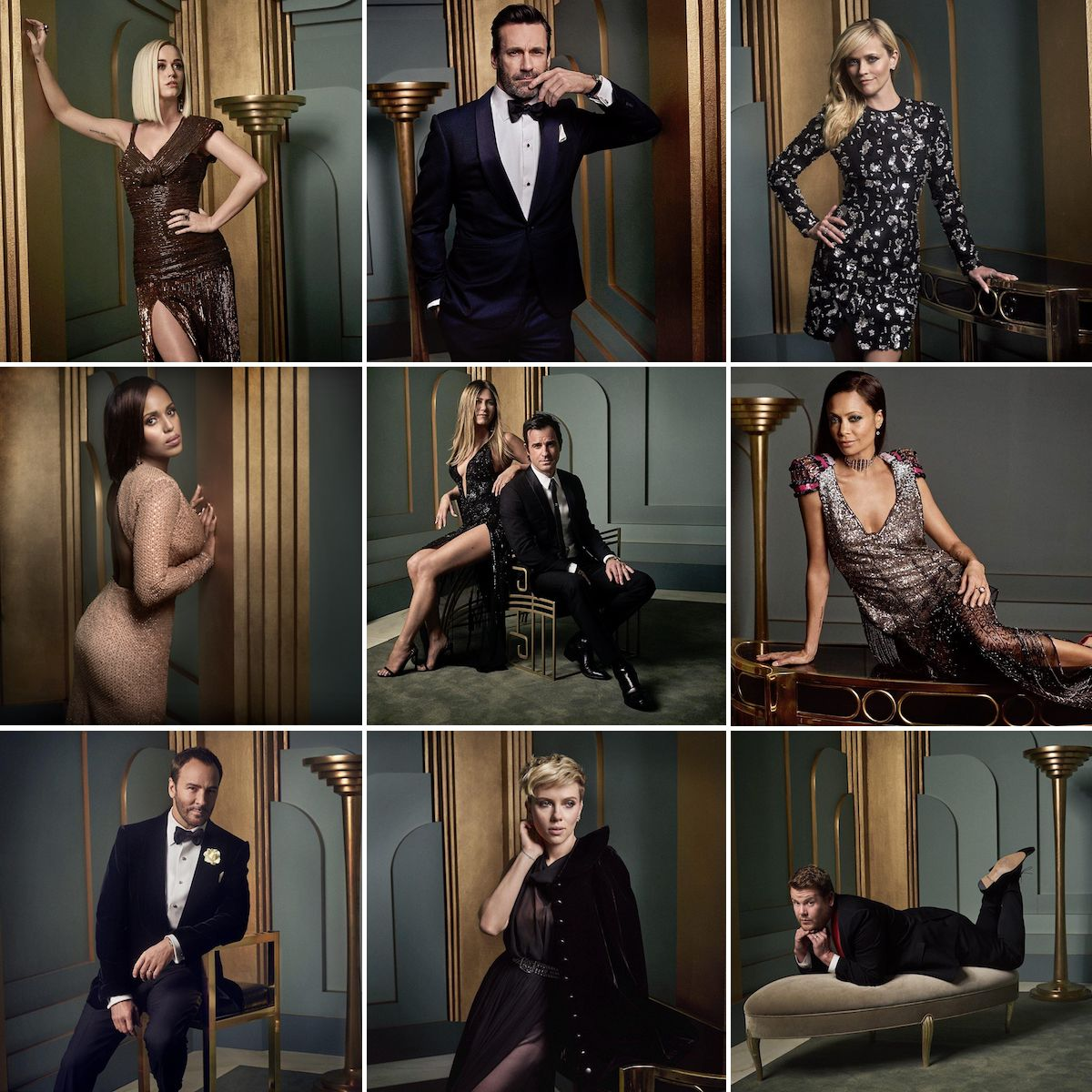 2017 Vanity Fair Oscar Party Portraits