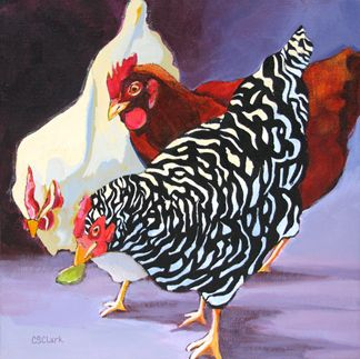 """""""Will You Share?""""     by Carolee Clark I have hens and trust me, I know the answer: """"NOT if I can keep this to myself"""". :-)"""