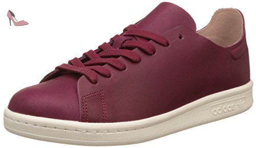 Stan Smith Nude, Sneaker Bas Cou Femme, Rouge (Collegiate Burgundy/Off White), 38 EUadidas