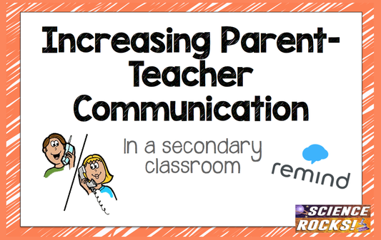 High school teacher Becca has found effective ways to communicate with her students' parents; ways that make for happy students, parents... and teacher!