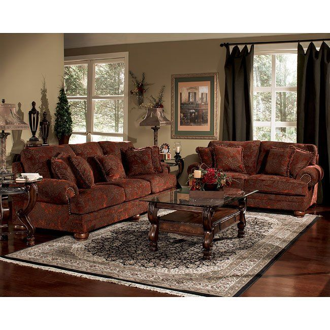Home Decor Sofa Set: Burlington - Sienna Living Room Set In 2019