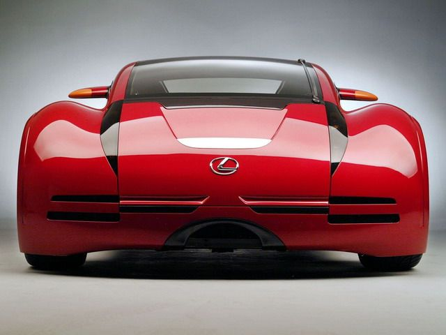Lexus Minority Report Sports Car Concept 2002