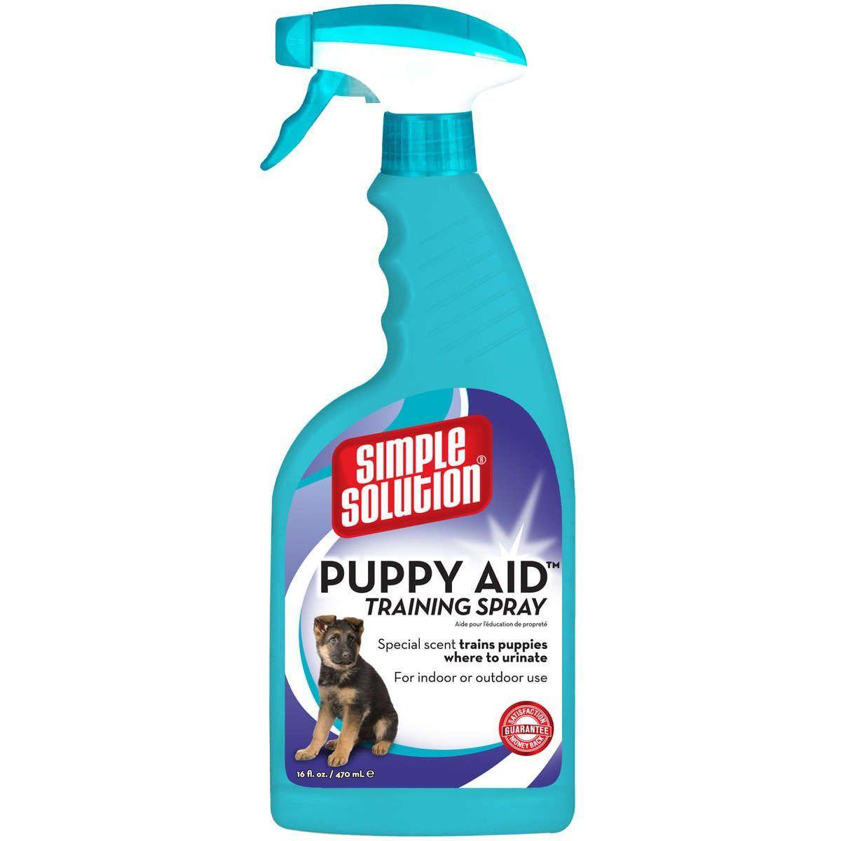 Simple Solution Puppy Aid Training Spray 16oz 1 7 X 3 9 X 11 Potty Training Puppy Dog Potty Training Puppy Pads Training