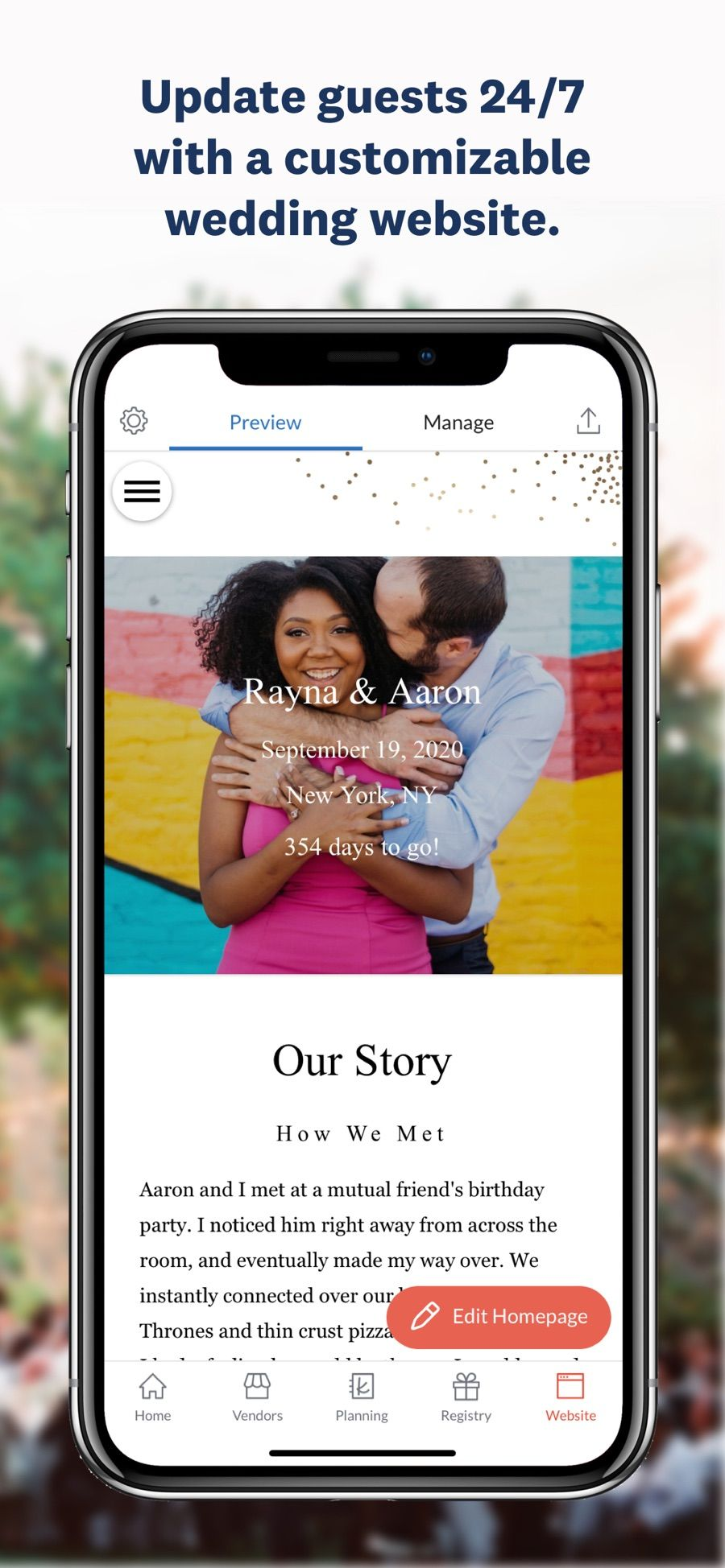 Wedding Planner by The Knot on the App Store Wedding