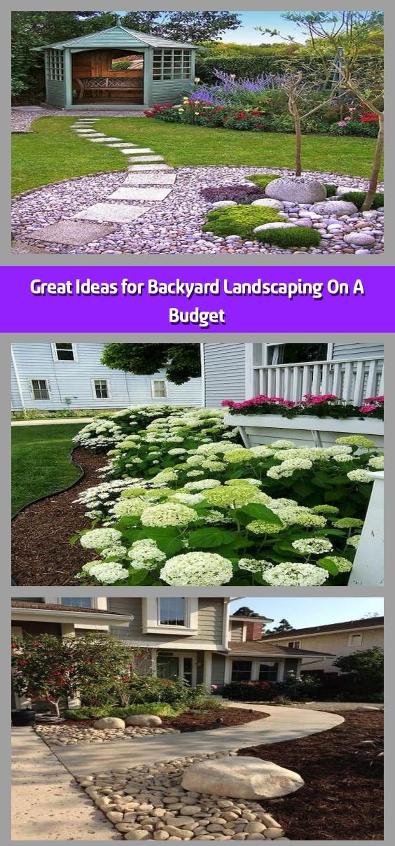 Great Ideas for Backyard Landscaping On A Budget - You can ...