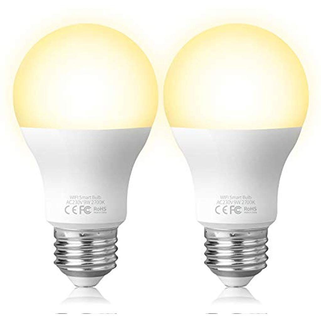 Fitop Smart Led Lampe E27 Wlan Gluhbirne2700k Warmweiss Birne 9w 806lm Kompatibel Mit Siri Alexa Und Google Assistant Dimmbares Led Lich In 2020 Led Lampe Led Licht Led