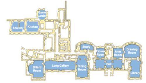 Ground Floor Plan Of Fota House In Ireland