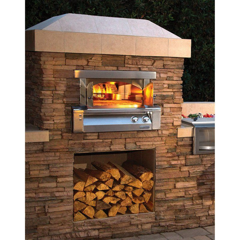 Outdoor Kitchen Pizza Oven Gas