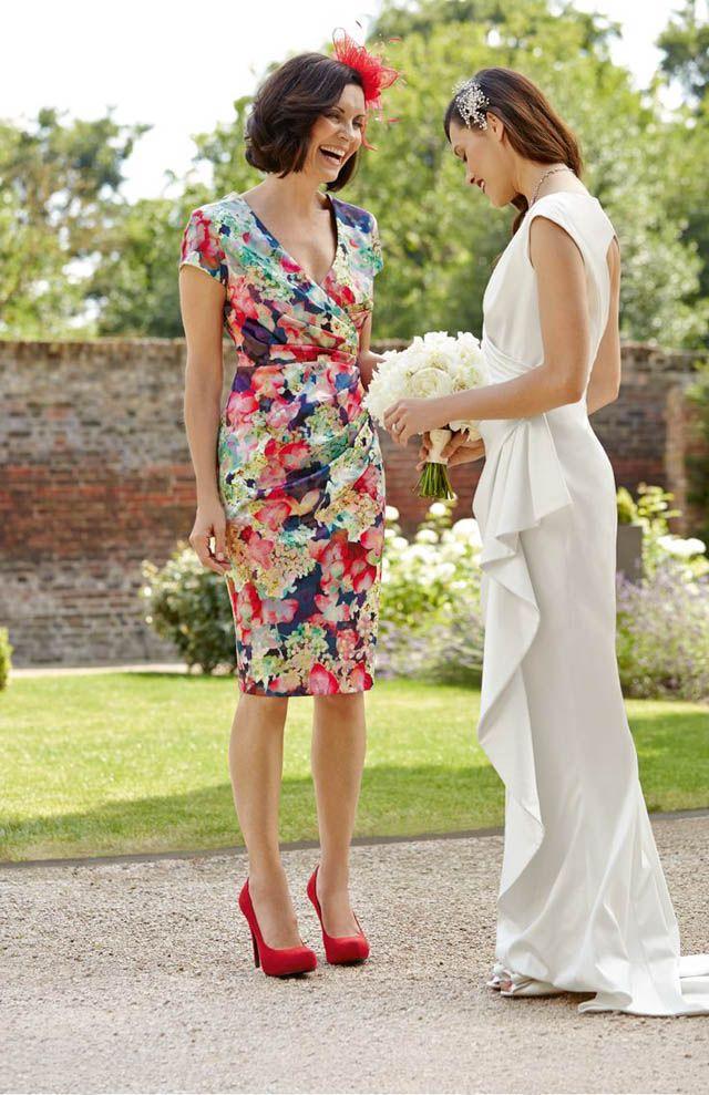 Vestidos fiesta de flores cortos
