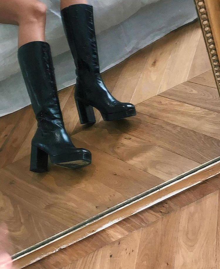 #shoes #boots #black #highheels #killerheels