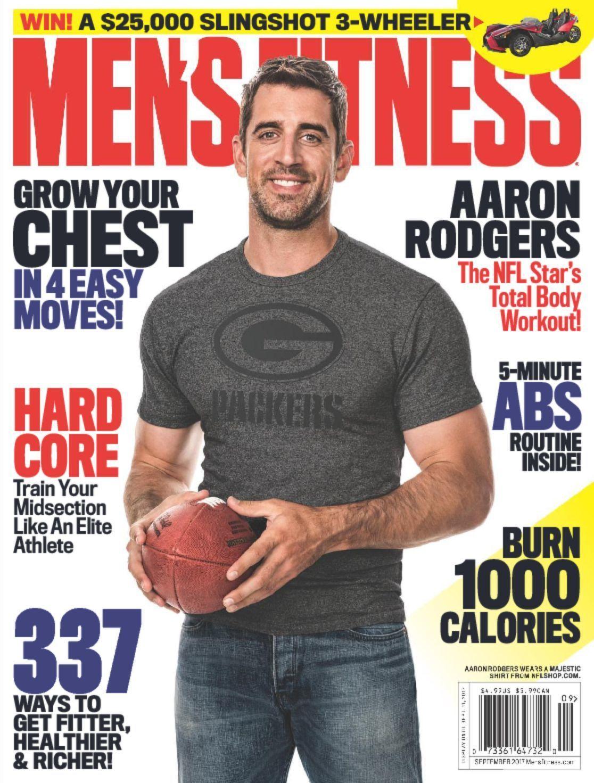 Men S Fitness Magazine Subscription Mens Fitness Magazine Fitness Magazine Aaron Rodgers