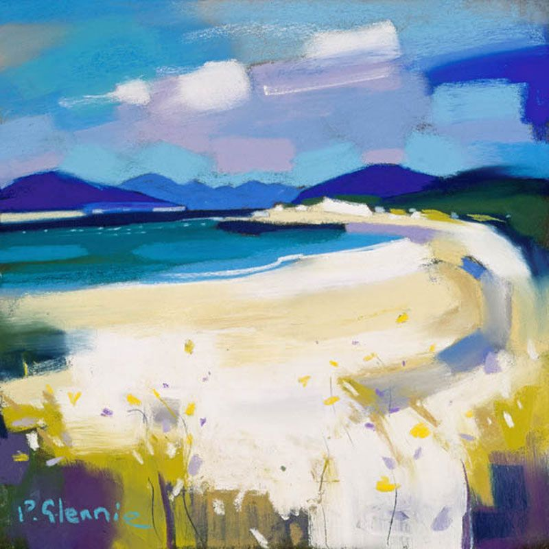 Pam Glennie  (adapt one of my tahiti beach pics in a similar style?)
