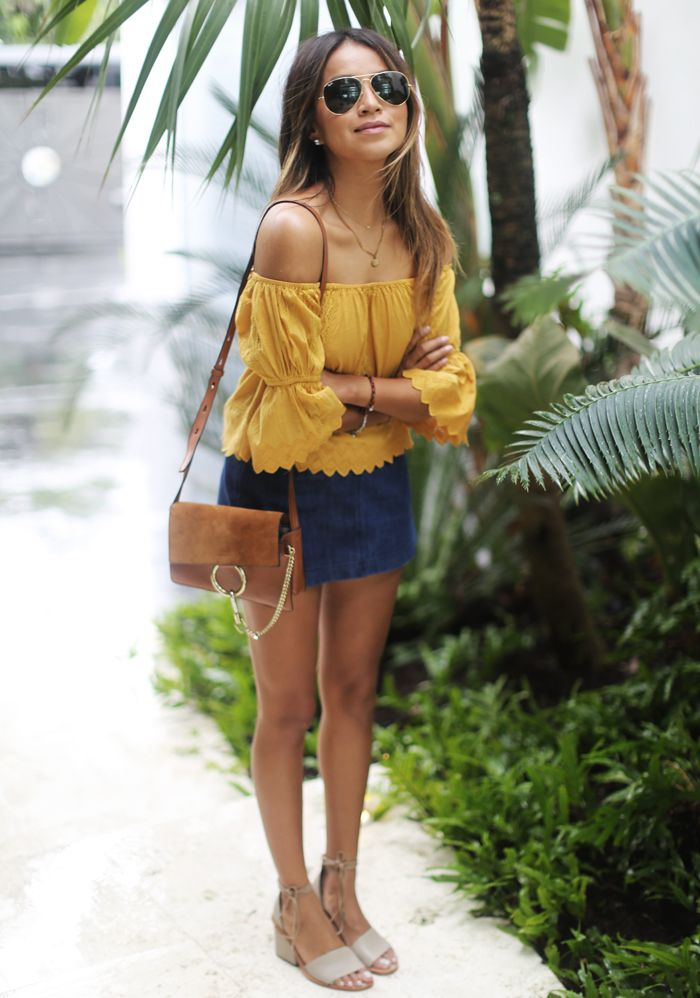 4d80d79b0be Blogger Style Watch  The Off-Shoulder Top