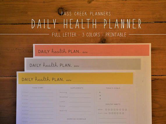 daily supplement schedule