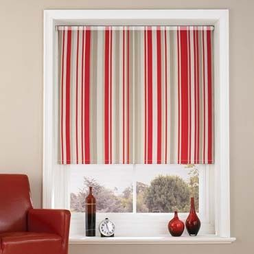 Mallow Red Roller Blind Red blinds Room boys and Conservatories