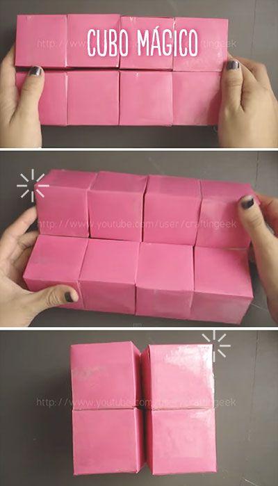 Como hacer un cubo m gico con varias caras para poner for Cuadros para poner fotos