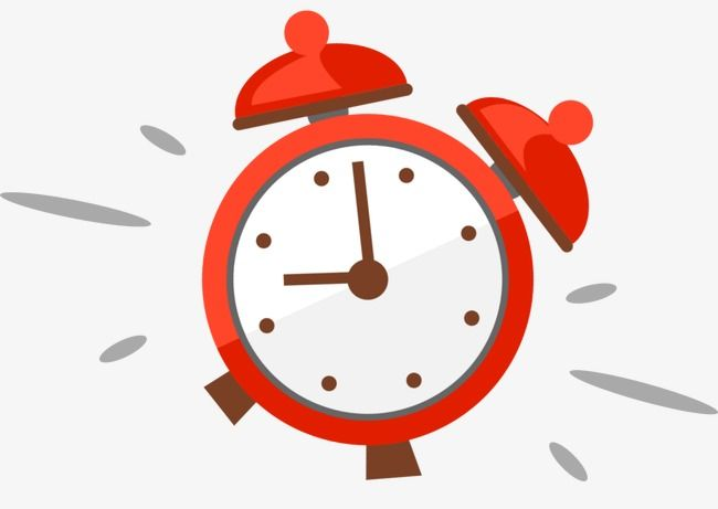 Cartoon Alarm Clock, Cartoon Clipart, Clock Clipart PNG ...