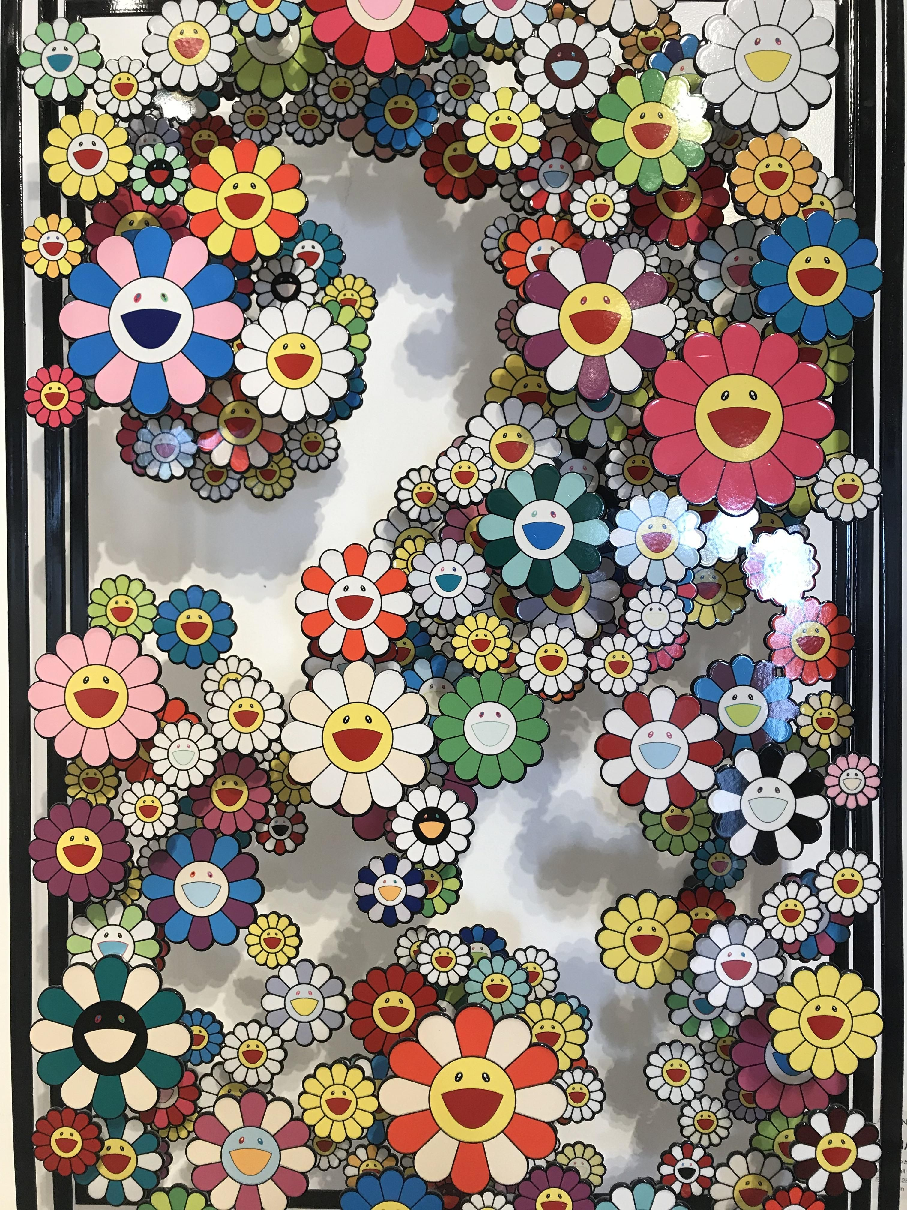 This Takashi Murakami I took a pic of at a gallery in