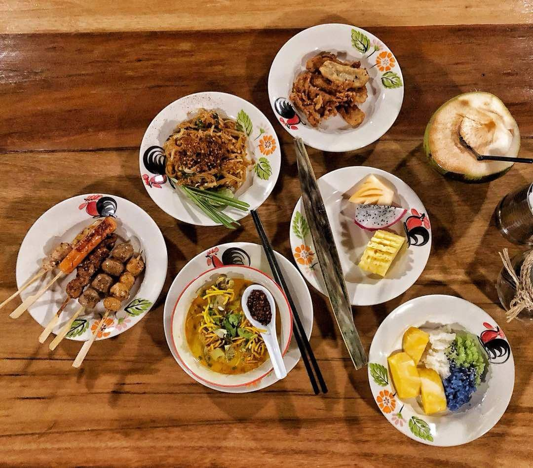 With Thai street food inspiration, Saturday evenings come