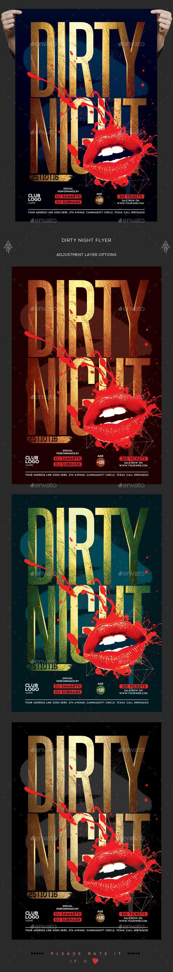 Dirty Night Flyer   Jahrbücher