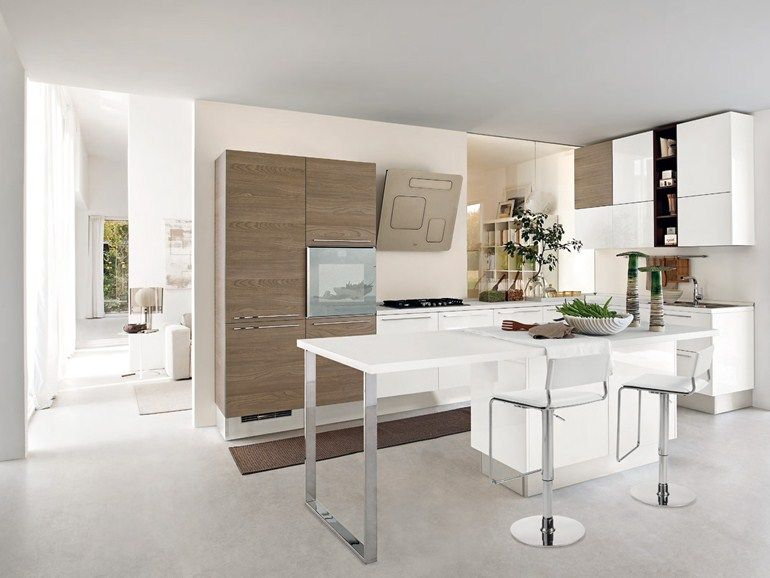 PAMELA Lacquered kitchen by LUBE INDUSTRIES S.R.L. | kuchnia ...