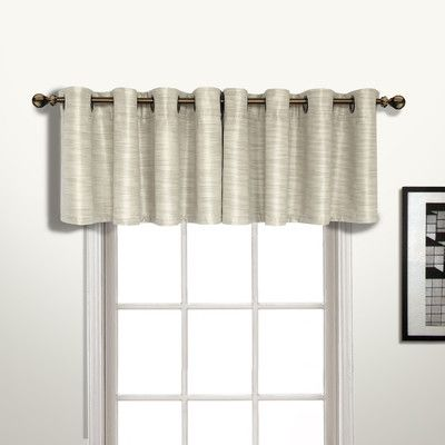 Found it at Wayfair - Brighton Curtain Valance