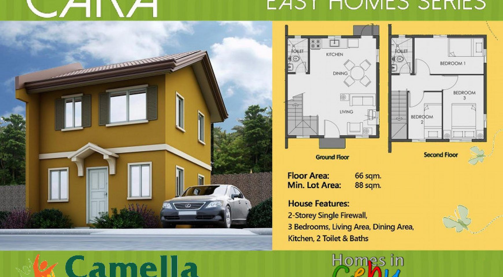 Camella Model House Cara With Images Model Homes