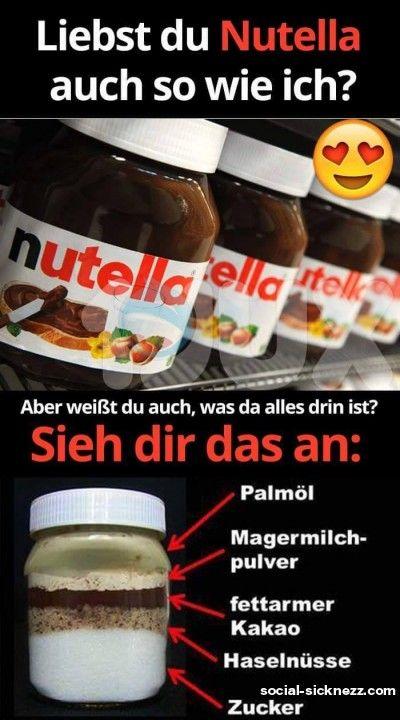 Oh Nutella Lustige Bilder Spruche Auf Deutsch Whats App Bilder Nutella Gut Zu Wissen Essen Und Trinken