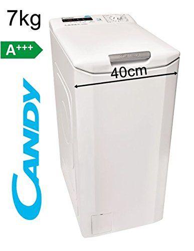 Candy Toplader 7kg Waschmaschine 40cm 1400 U Min A Display