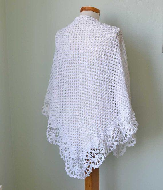 VICTORIA, Crochet shawl pattern, PDF | Crochet | Pinterest | Schal ...