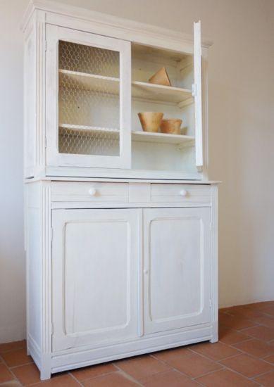 Les vieux meubles vaisselier proven al blanc gr ge c rus design home en 2019 vaisselier - Ceruser un meuble en pin ...