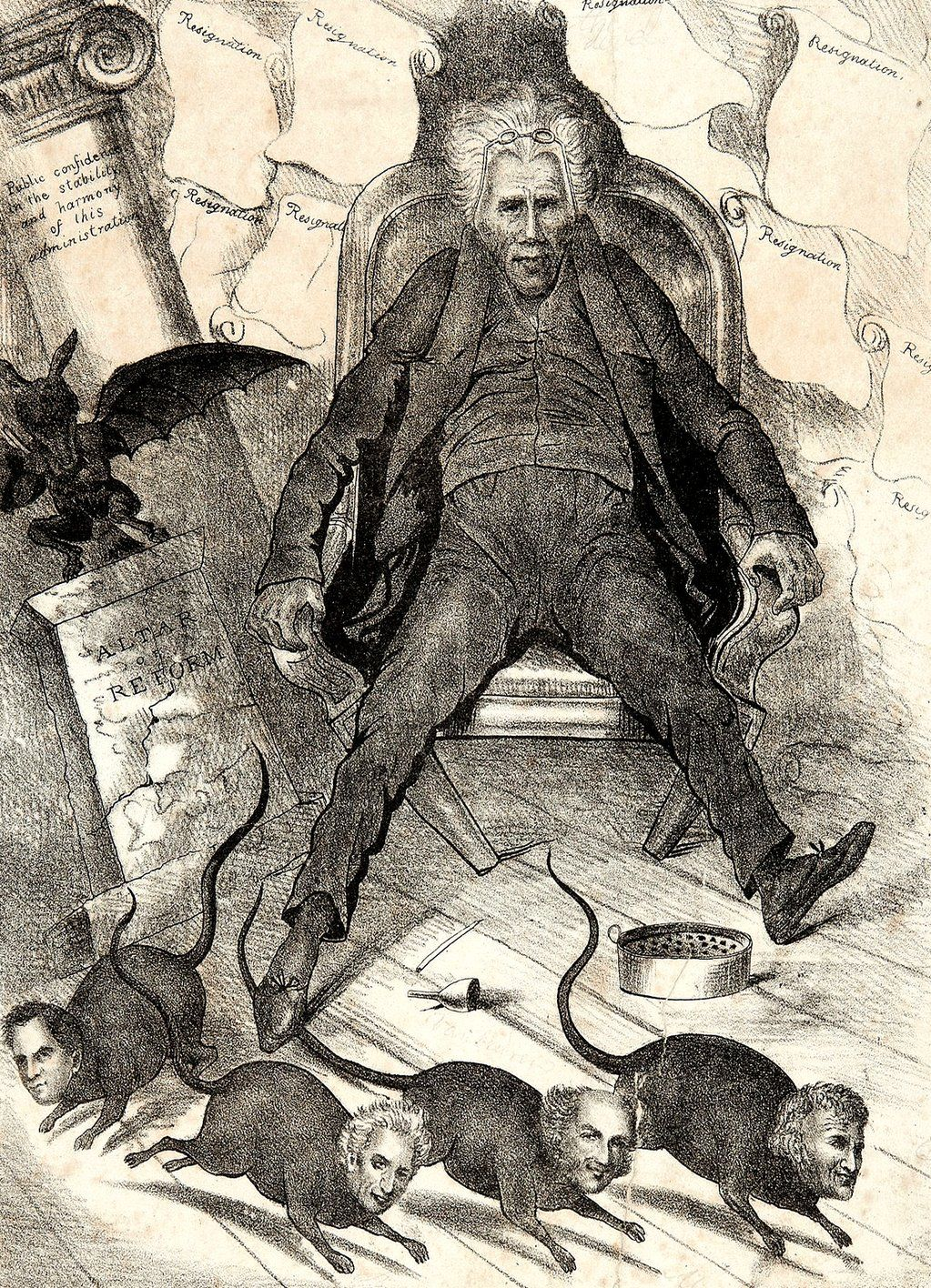 Spoils System Andrew Jackson Lost Drawings On  Andrew Jackson And Drawings