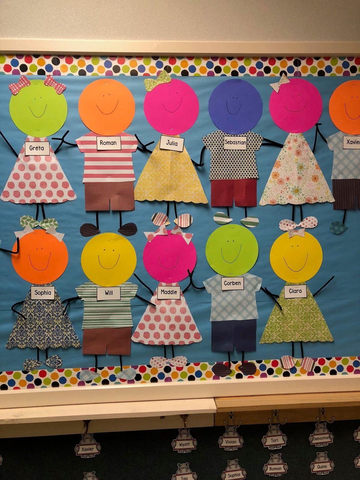 Back To School Bulletin Board Idea For Preschool And Pre K