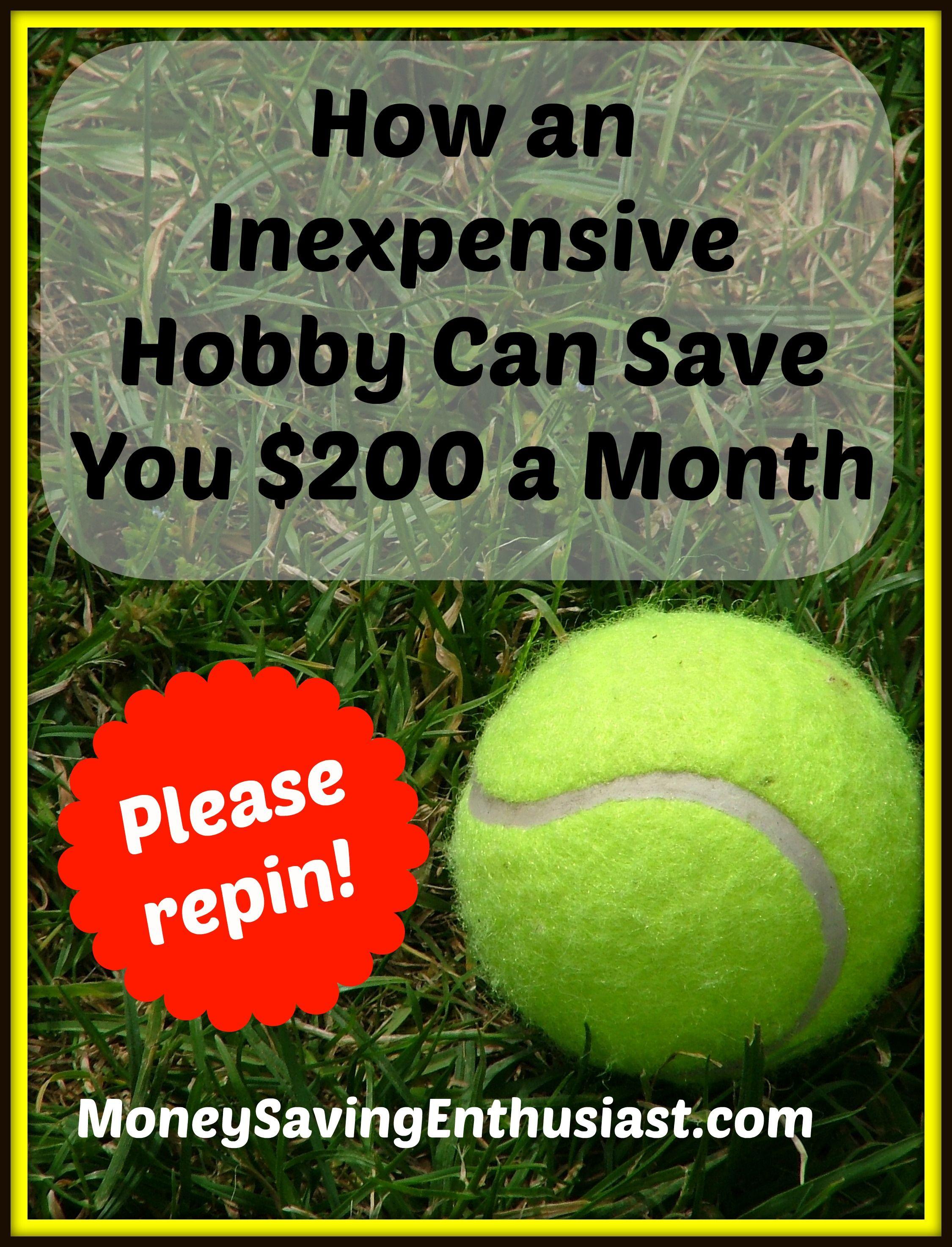 Photo of Wie ein preiswertes Hobby Ihnen 200 $ pro Monat sparen kann #moneysavingideas #moneysavin …