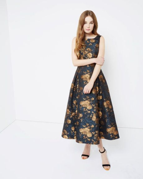 89e6830d1 Jacquard Dress - Black