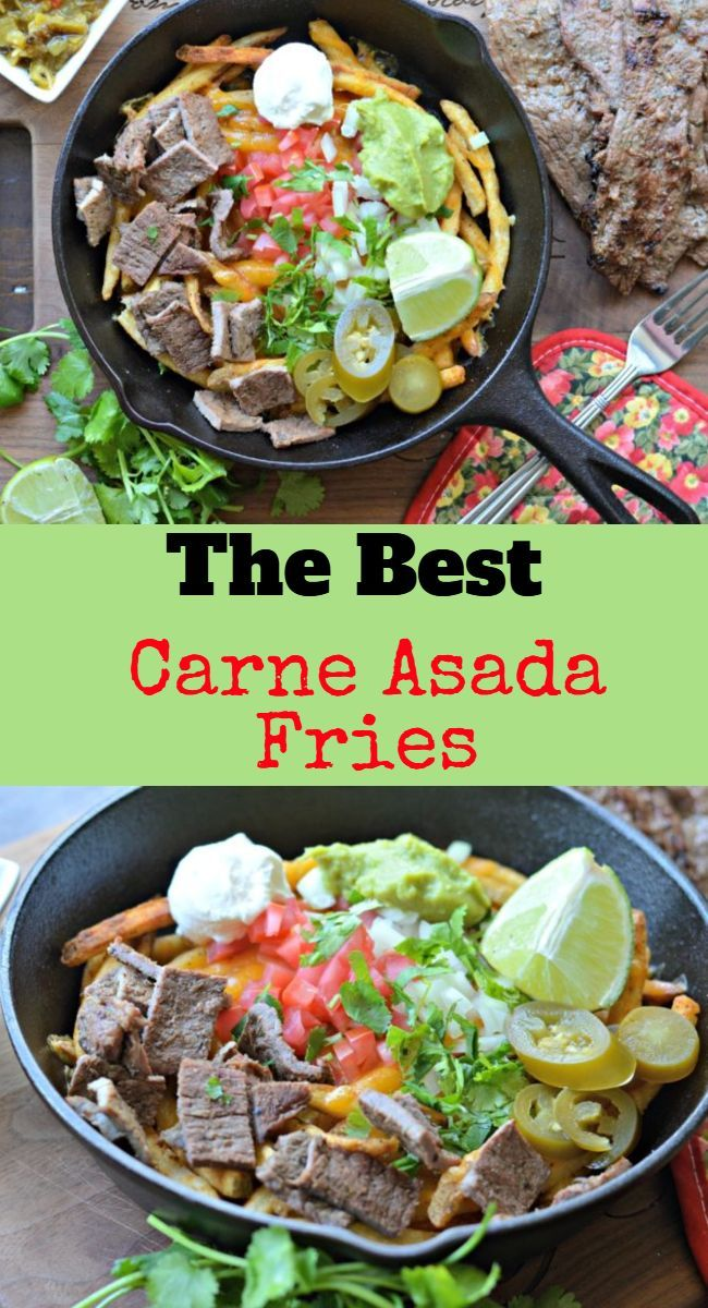 Photo of La mejor receta de papas fritas Carne Asada – My Latina