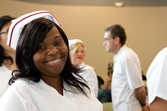 Graduates of the 2014 Practical Nursing program at St. Charles Community College were honored Saturday, March 22, in a pinning ceremony celebrating the culmination of their nursing education.