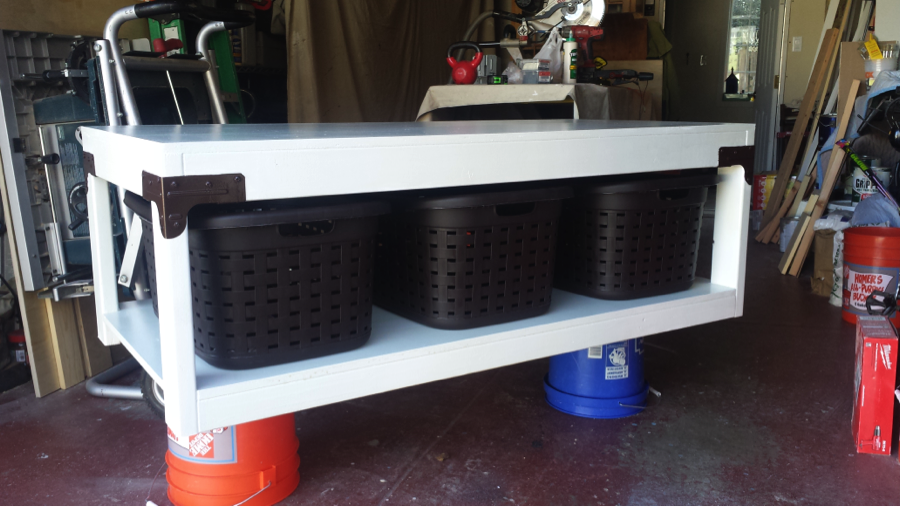 10 Super Sturdy Diy Laundry Pedestals Free Plans Avec Images Machine A Laver