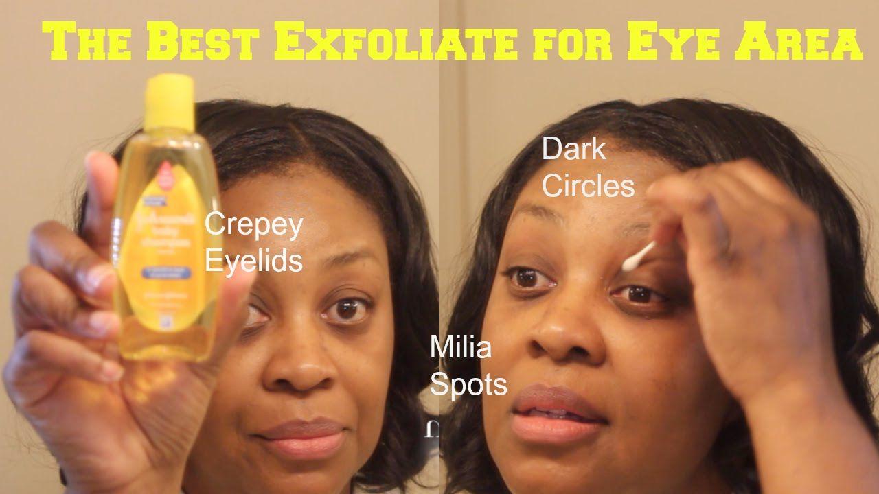 BABY SHAMPOO? YES Exfoliate Dark Circles, Dry eyelids