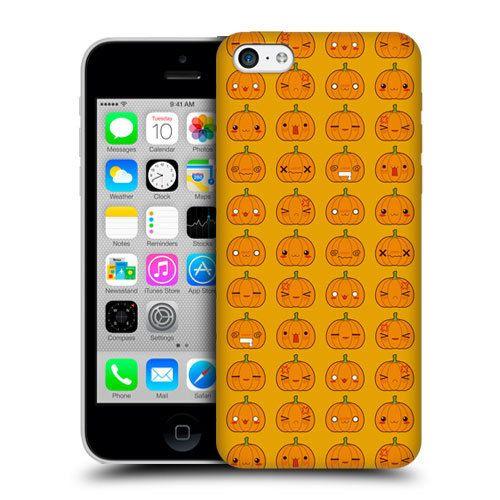 Head+Case+Designs+Pumpkin+Pattern+Kawaii+Halloween+Back+Case+for+Apple+ iPhone+5c afa7e6969a