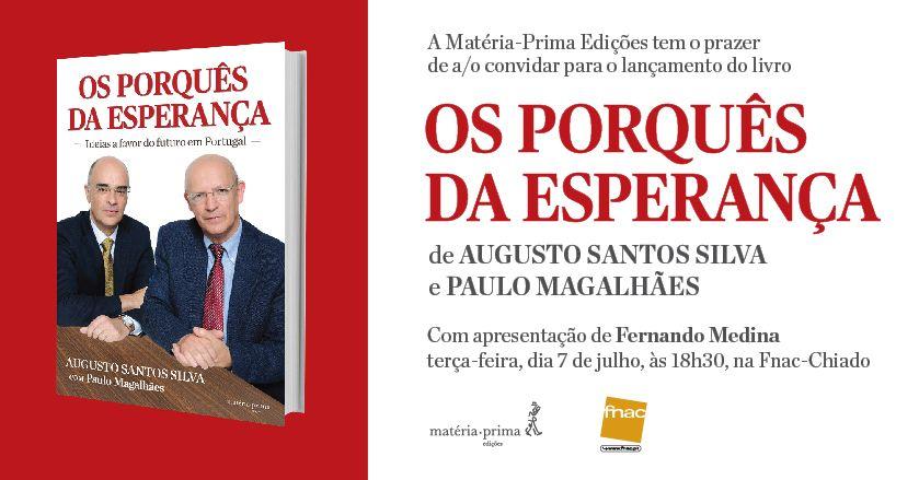 O convite para o lançamento do livro em Lisboa, apresentado pelo presidente da CML, Fernando Medina.