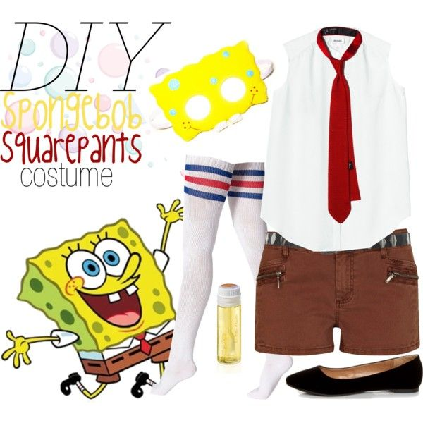 spongebob costume diy googles248gning diy clothes