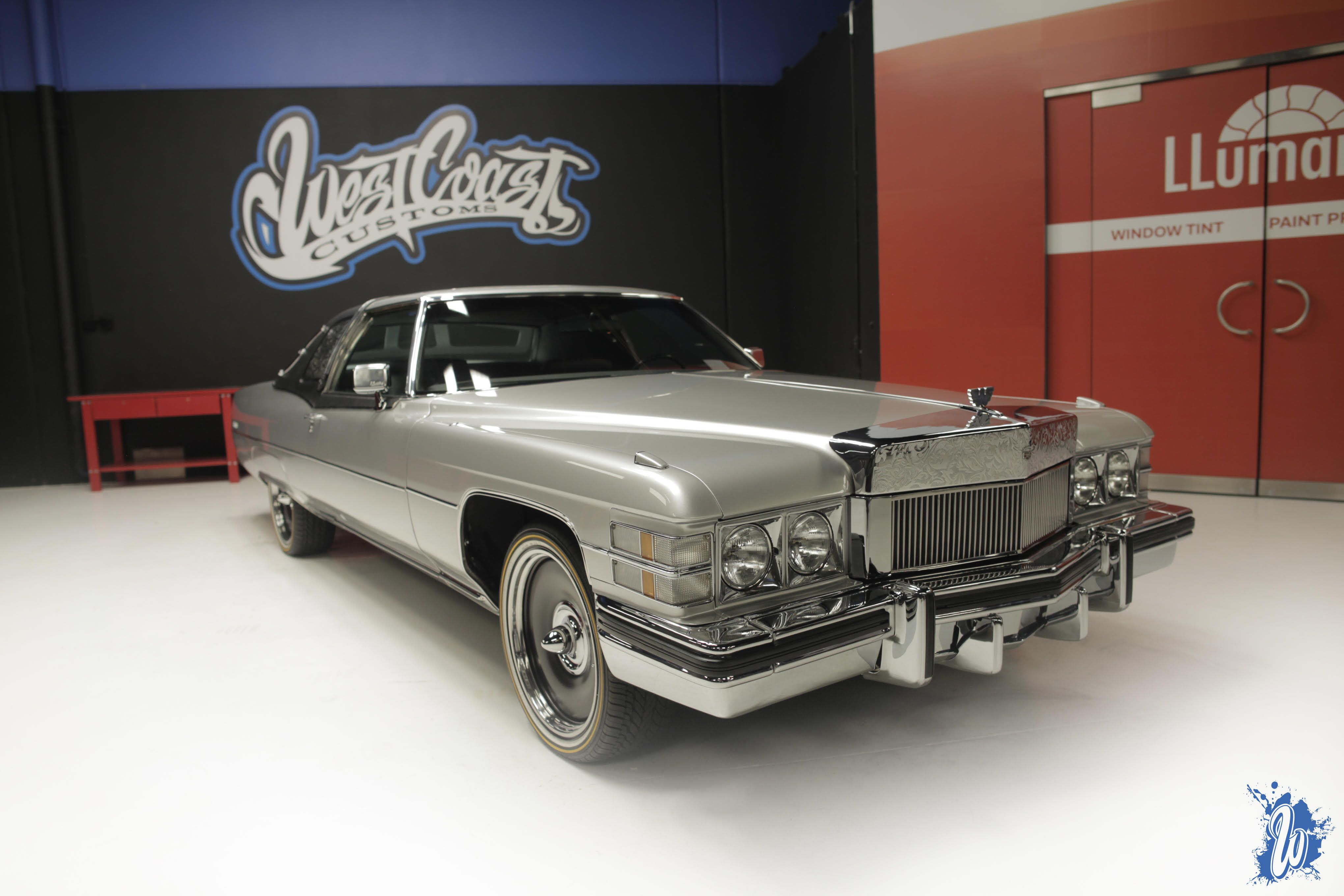 check out the latest kid rock cadillac on vogues custom made by west coast customs