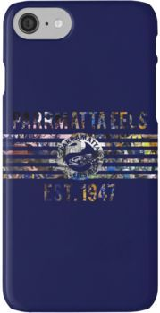 various colors e8a19 bb59f Parramatta Eels - NRL' iPhone Case by SmithersSports | Products ...